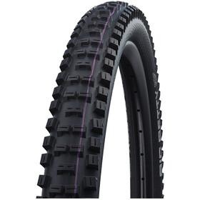 "SCHWALBE Big Betty Super Downhill Evolution Folding Tyre 29x2.40"" TLE E-50 Addix Ultra Soft, black"